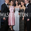 "Paul Kim, Eun Won Lee, Paola Libraro, Nicole Graniero, Andrew King. Photo by Tony Powell. 2017 Washington Ballet ""We Choose the Moon"" Gala. Air & Space Museum. May 12, 2017"