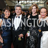 "Beth and Charlie Kohlhoss, Maureen Berk, Donna Limerick. Photo by Tony Powell. 2017 Washington Ballet ""We Choose the Moon"" Gala. Air & Space Museum. May 12, 2017"