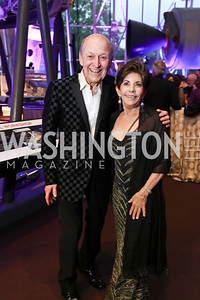 "Victor Shargai, Nancy Conrad. Photo by Tony Powell. 2017 Washington Ballet ""We Choose the Moon"" Gala. Air & Space Museum. May 12, 2017"