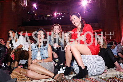 Leah Beilhart, Olivia Amter, Judith Rontal, Rachel Skolnick. Photo by Tony Powell. 2017 WeWork Creator Awards. Mellon Auditorium. March 28, 2017