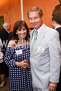 Jeannemarie and Rep. Tom Davis. Photo by Tony Powell. 2017 Will on the Hill. Harman Center for the Arts. June 12, 2017