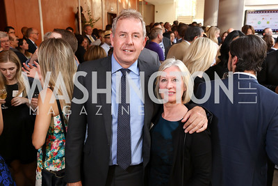 Britain Amb. Sir Kim Darroch and Lady Darroch. Photo by Tony Powell. 2017 Will on the Hill. Harman Center for the Arts. June 12, 2017