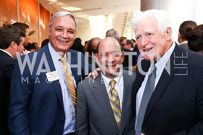 The Hon. Jeff Miller, Doug Licker, Rep. Jim Moran. Photo by Tony Powell. 2017 Will on the Hill. Harman Center for the Arts. June 12, 2017