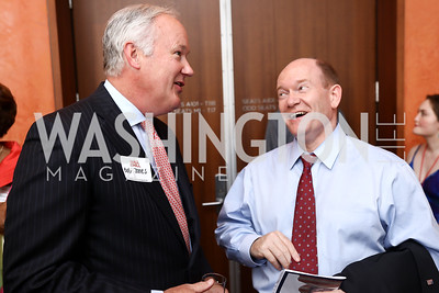 Bob Jones, Sen. Chris Coons. Photo by Tony Powell. 2017 Will on the Hill. Harman Center for the Arts. June 12, 2017