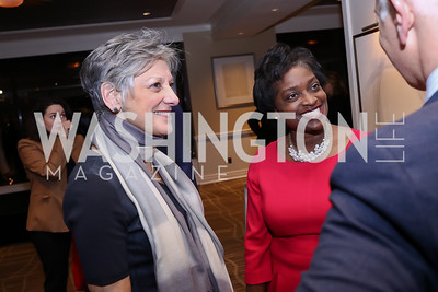 Allyson Schwartz, Mignon Clyburn. Photo by Tony Powell. 2017 Women Rule Summit Kickoff. Four Seasons. December 4, 2017