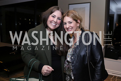 Jamie Carroll, Marissa Mitrovich. Photo by Tony Powell. 2017 Women Rule Summit Kickoff. Four Seasons. December 4, 2017
