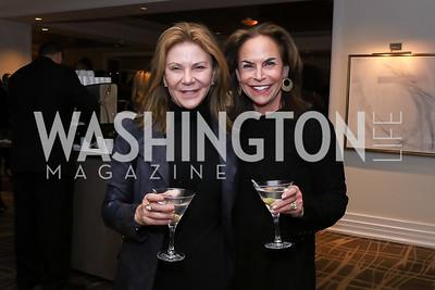 Susan Molinari, Melissa Moss. Photo by Tony Powell. 2017 Women Rule Summit Kickoff. Four Seasons. December 4, 2017