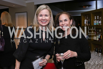 Mary Streett, Melissa Moss. Photo by Tony Powell. 2017 Women Rule Summit Kickoff. Four Seasons. December 4, 2017