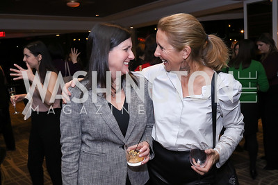 Traci Schweikert, Bettina Stern. Photo by Tony Powell. 2017 Women Rule Summit Kickoff. Four Seasons. December 4, 2017