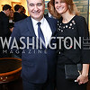 Azerbaijan Amb. Elin Suleymanov and Lala Abdurahimova. Photo by Tony Powell. 2017 World Affairs Global Education Gala. Ritz Carlton. March 29, 2017