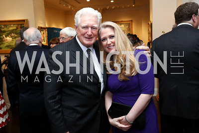 Rep. Jim Moran and Mary Moran. Photo by Tony Powell. 2017 World Affairs Global Education Gala. Ritz Carlton. March 29, 2017