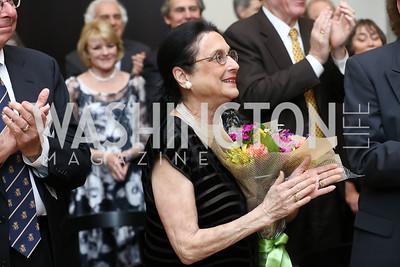 Susan Wadsworth. Photo by Tony Powell. 2017 YCA Gala. Residence of Germany. April 6, 2017