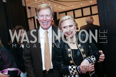 Bob and Olga Ryan. Photo by Tony Powell. 2017 YCA Gala. Residence of Germany. April 6, 2017