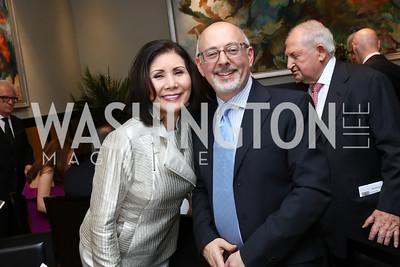 Keiko Kaplan, Mark Hayman. Photo by Tony Powell. 2017 YCA Gala. Residence of Germany. April 6, 2017