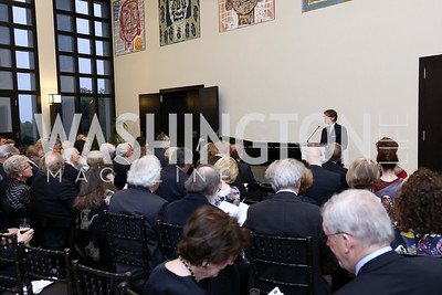 Germany Amb. Peter Wittig. Photo by Tony Powell. 2017 YCA Gala. Residence of Germany. April 6, 2017