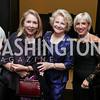 Gilan Corn, Mary Mochary, Vicki Kellogg. Photo by Tony Powell. 2017 YCA Gala. Residence of Germany. April 6, 2017