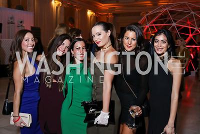 Andi Coronado, Suzanne Kianpour, Anastasia Dellaccio, Fran Holuba, Arina Voznesenskaya, Kaline Hamadi. Photo by Tony Powell. 2018 YGL. Union Station. November 10, 2017