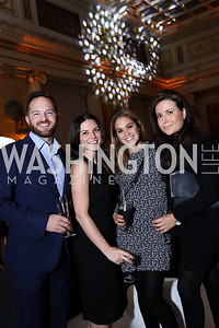 John Legittino, Ashlee Strong, Jenna Sakwa, Lauren Pratapas. Photo by Tony Powell. 2018 YGL. Union Station. November 10, 2017