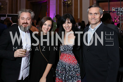 Sandro Kereselidze, Tatiana Pastukhova, Nora Maccoby and Todd Hathaway. Photo by Tony Powell. 2018 YGL. Union Station. November 10, 2017