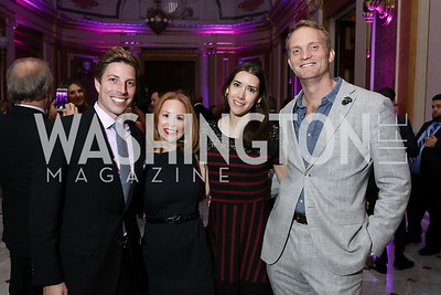 John Means, Rebecca Ballard, Maria van Wagenberg, Geoff Orazem. Photo by Tony Powell. 2018 YGL. Union Station. November 10, 2017