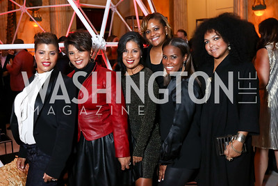 Tina Easter, Tiffany Rose, Beatriz Chavez, Chinyere Hubbard, Lynne Lightfoote, Kristi Riggs. Photo by Tony Powell. 2018 YGL. Union Station. November 10, 2017