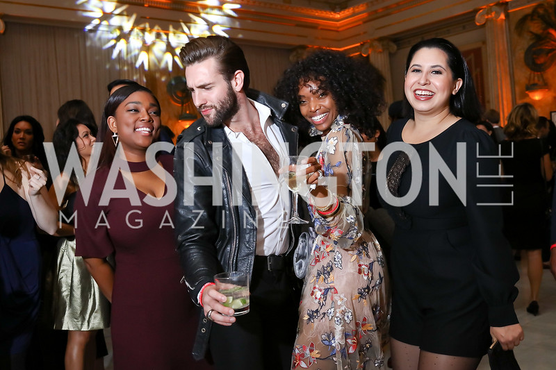 Angela Bobo, Dan Roberge, Lashawn Kenney, Ashley Arias. Photo by Tony Powell. 2018 YGL. Union Station. November 10, 2017