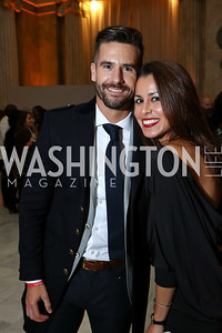 Eric Heidenberger, Amanda Thayer. Photo by Tony Powell. 2018 YGL. Union Station. November 10, 2017