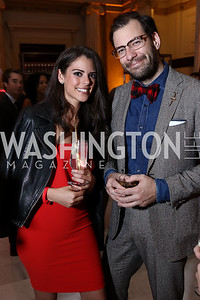 Adriana Brizuela, Christopher Gindlesperger. Photo by Tony Powell. 2018 YGL. Union Station. November 10, 2017