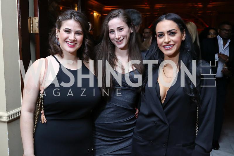 Danya Sherman, Liana Sherman, Katarina Baiano. Photo by Tony Powell. 2018 YGL. Union Station. November 10, 2017