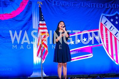 Samantha Rios. Photo by Alfredo Flores. LULAC 20th Annual LULAC National Legislative Awards Gala. Grand Hyatt. February 15, 2017