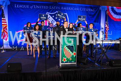 Roger Rocha. Photo by Alfredo Flores. LULAC 20th Annual LULAC National Legislative Awards Gala. Grand Hyatt. February 15, 2017
