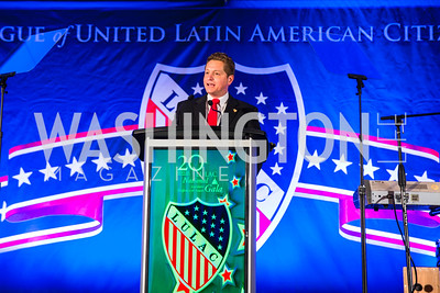 Julio Suarez. Photo by Alfredo Flores. LULAC 20th Annual LULAC National Legislative Awards Gala. Grand Hyatt. February 15, 2017