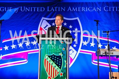 Julio Suarez. Photo by Alfredo Flores. LULAC 20th Annual LULAC National Legislative Awards Gala. Grand Hyatt. February 15, 2017