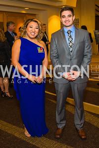 Tracey Campbell, Kevin Zastrow. Photo by Alfredo Flores. LULAC 20th Annual LULAC National Legislative Awards Gala. Grand Hyatt. February 15, 2017