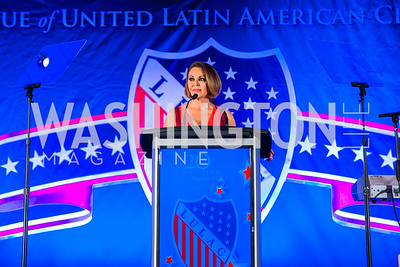 María Elena Salinas. Photo by Alfredo Flores. LULAC 20th Annual LULAC National Legislative Awards Gala. Grand Hyatt. February 15, 2017