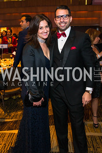 Raquel Borras, Jason Elias Gonzalez. Photo by Alfredo Flores. LULAC 20th Annual LULAC National Legislative Awards Gala. Grand Hyatt. February 15, 2017