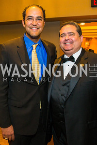 Congressman Will Hurd, Roger Rocha. Photo by Alfredo Flores. LULAC 20th Annual LULAC National Legislative Awards Gala. Grand Hyatt. February 15, 2017