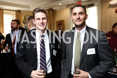 Ian Hourican, Louis Carapico. Photo by Tony Powell. Sixth Annual Tribute to Veterans. Capitol Hill Club. June 27, 2017