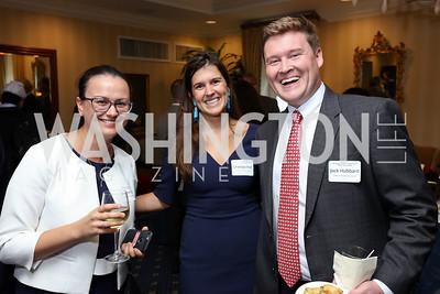Caroline Eszes, Chelsea Hall, Jack Hubbard. Photo by Tony Powell. Sixth Annual Tribute to Veterans. Capitol Hill Club. June 27, 2017