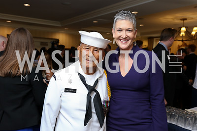 Fame Academia, Jennifer Griffin. Photo by Tony Powell. Sixth Annual Tribute to Veterans. Capitol Hill Club. June 27, 2017