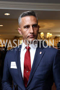 Patrick Francescon. Photo by Tony Powell. Sixth Annual Tribute to Veterans. Capitol Hill Club. June 27, 2017