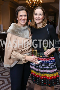 Amanda Bowker, Cecilie Horvath. Photo by Tony Powell. 8th Annual Wacky and Whimsical Tea for THEARC. Ritz Carlton. March 12, 2017