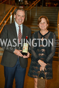 Byrne Murphy, Pamela Murphy, Arena Stage Wine Auction, October 3, 2017, Photo by Ben Droz