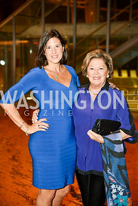 Gabrielle Harsanyi Beaumont and Fruzsina Harsanyi, Arena Stage Wine Auction, October 3, 2017, Photo by Ben Droz