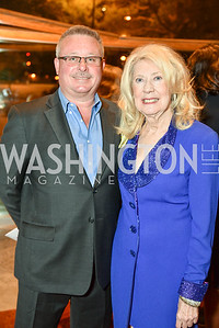 Jeff Love and Anne Marie Tighe, Arena Stage Wine Auction, October 3, 2017, Photo by Ben Droz