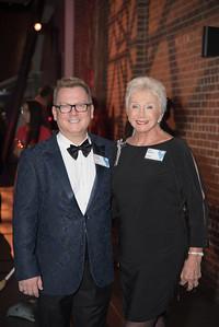 Doug Yeuell, Ann Belkov,  Atlas Performing Arts Center, Destination Atlas Party for a Purpose Gala, October 6, 2017. Photo by Ben Droz.