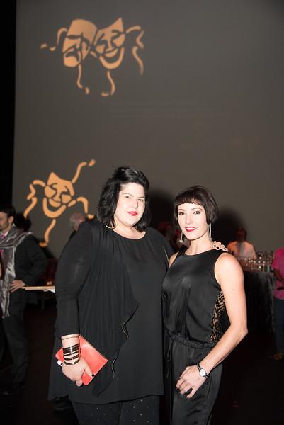 Zara Korutz, Morgann Rose, Atlas Performing Arts Center, Destination Atlas Party for a Purpose Gala, October 6, 2017. Photo by Ben Droz.