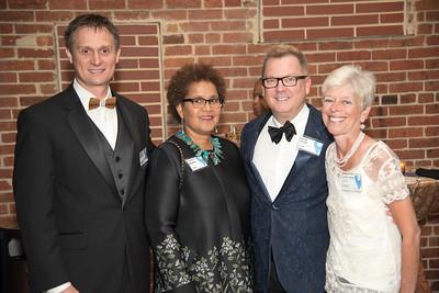Marek Skovajsa,  Sherry Bellamy, Doug Yeuell, Jane Lang,Atlas Performing Arts Center, Destination Atlas Party for a Purpose Gala, October 6, 2017. Photo by Ben Droz.