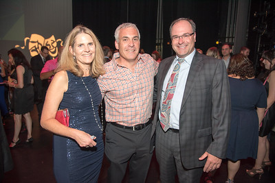 Donna Oetzel, David Belman, Chris Shepperson, Atlas Performing Arts Center, Destination Atlas Party for a Purpose Gala, October 6, 2017. Photo by Ben Droz.