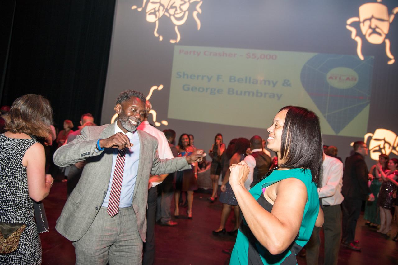 Anwar Saleem, Angie Gates, Atlas Performing Arts Center, Destination Atlas Party for a Purpose Gala, October 6, 2017. Photo by Ben Droz.